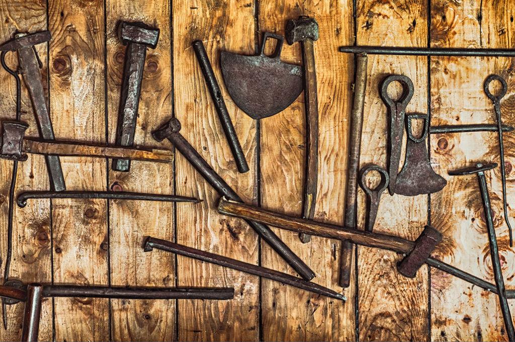 gold mining tools