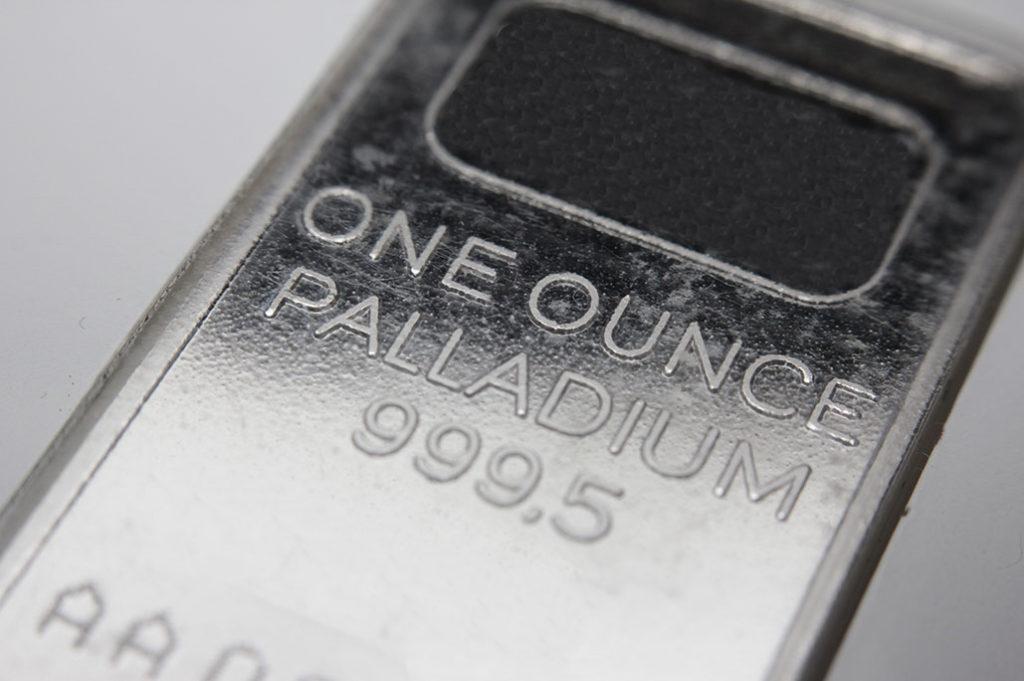 one ounce palladium