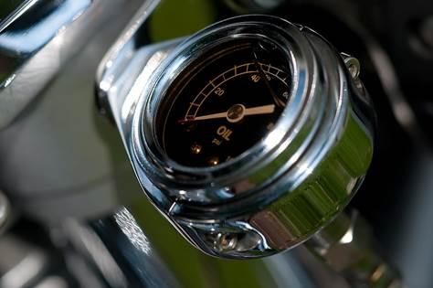 Stainless Steel Vehicle Fuel Gauge